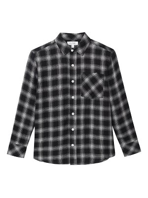 DL 1961 Button-Down Plaid Collared Shirt