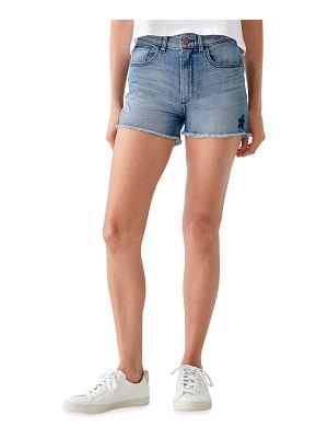 DL 1961 Cecilia High-Rise Shorts with Stars