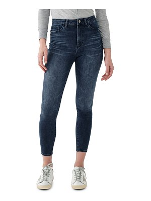 DL 1961 Chrissy Ultra High-Rise Skinny Ankle Jeans