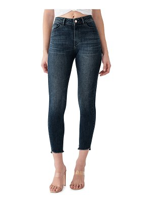 DL 1961 Farrow Crop High Rise Skinny Jeans