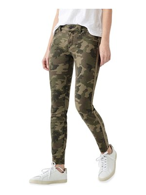 DL 1961 Florence Camo-Print Ankle Skinny Jeans