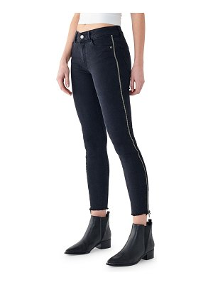 DL 1961 Florence Crop Mid-Rise Skinny Jeans