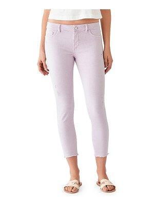 DL 1961 Florence Cropped Mid-Rise Skinny Jeans