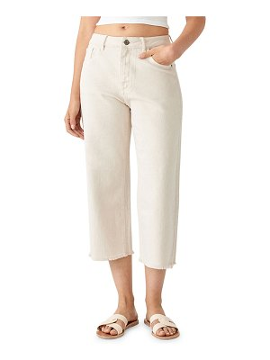 DL 1961 Hepburn Crop High-Rise Wide-Leg Jeans
