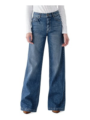 DL 1961 Hepburn High-Rise Wide-Leg Jeans