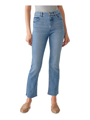 DL 1961 Mara Ankle High-Rise Straight Jeans
