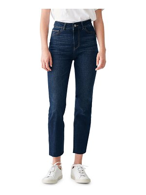 DL 1961 Mara High-Rise Straight Ankle Jeans
