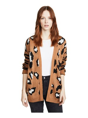 DNA leopard zebra mix cardigan