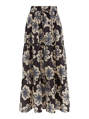 Dodo Bar Or batira floral print cotton maxi skirt