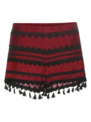 Dodo Bar Or embroidered cotton shorts