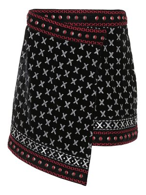 Dodo Bar Or Embroidered miniskirt