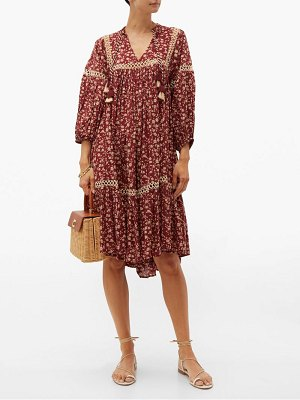 Dodo Bar Or nell floral print cotton dress