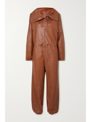 Dodo Bar Or piki leather jumpsuit