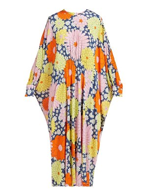 Dodo Bar Or yvon floral print kaftan dress