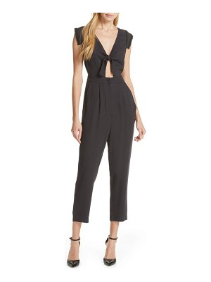 Dolan dolly knot front jumpsuit