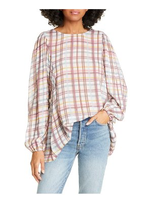 Dolan yvette balloon sleeve top
