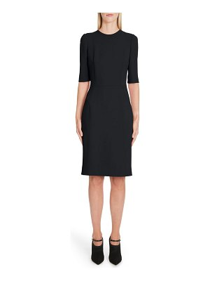Dolce & Gabbana cady sheath dress