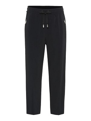 Dolce & Gabbana cropped cady trackpants