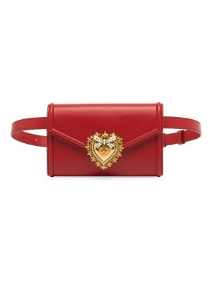 Dolce & Gabbana devotion leather belt bag