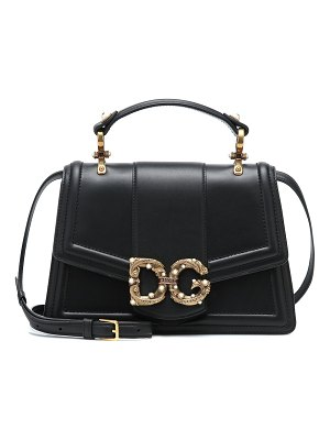 Dolce & Gabbana dg amore leather tote