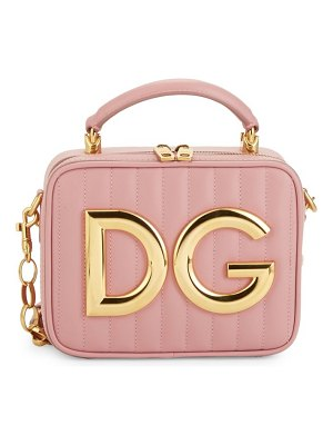 Dolce & Gabbana DG Quilted Leather Top Handle Bag