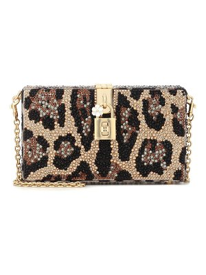 Dolce & Gabbana dolce box embellished clutch