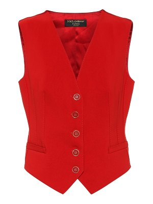 Dolce & Gabbana exclusive to mytheresa – cotton and silk-blend vest