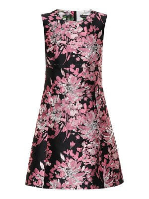 Dolce & Gabbana floral brocade dress