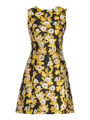 Dolce & Gabbana floral jacquard cocktail dress