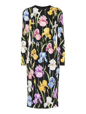 Dolce & Gabbana Floral silk-blend dress