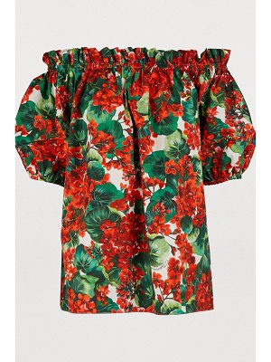 Dolce & Gabbana Flower print top