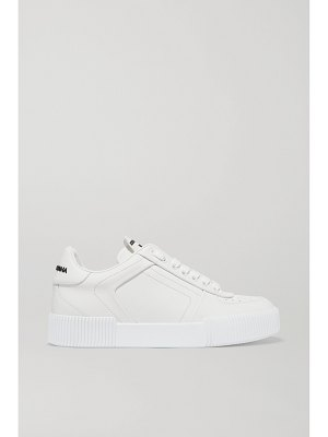 Dolce & Gabbana logo-print leather sneakers