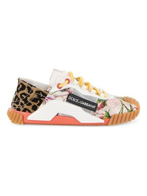 Dolce & Gabbana ns-1 mixed-media sneakers