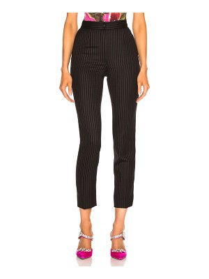 Dolce & Gabbana Pinstripe High Waisted Trousers