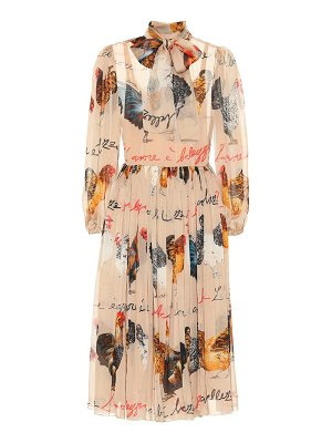 Dolce & Gabbana Printed silk chiffon dress