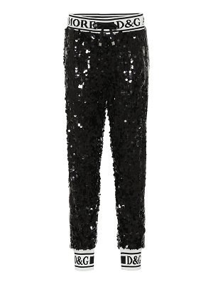 Dolce & Gabbana Sequined trackpants