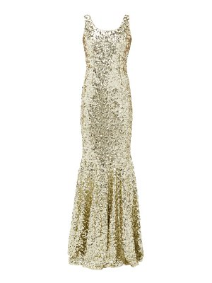 Dolce & Gabbana sequinned fishtail gown