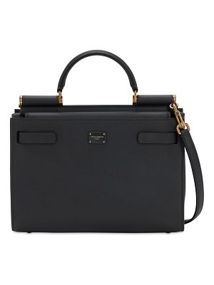 Dolce & Gabbana Sicily 62 small leather top handle bag