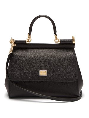 Dolce & Gabbana sicily small leather cross body bag