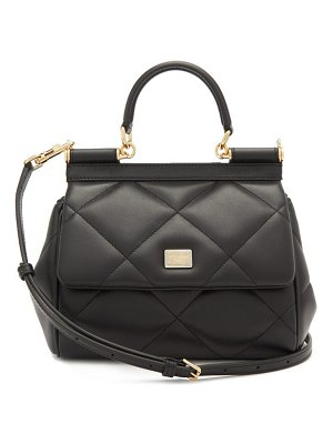 Dolce & Gabbana sicily small quilted-leather cross-body bag