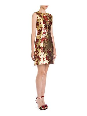 Dolce & Gabbana sleeveless jacquard mini dress