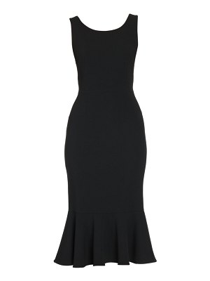 Dolce & Gabbana sleeveless mermaid midi dress
