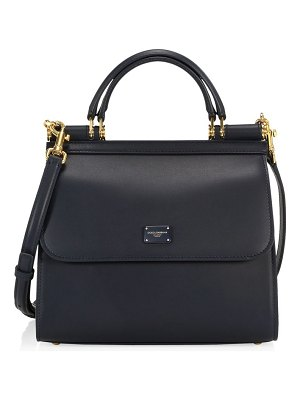 Dolce & Gabbana small borsa sicily leather top handle bag