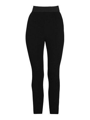 Dolce & Gabbana stretch cady leggings