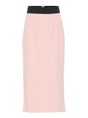 Dolce & Gabbana stretch-cady pencil skirt