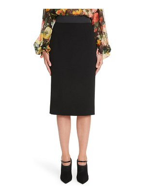 Dolce & Gabbana stretch wool pencil skirt