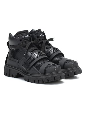 Dolce & Gabbana trekking leather ankle boots