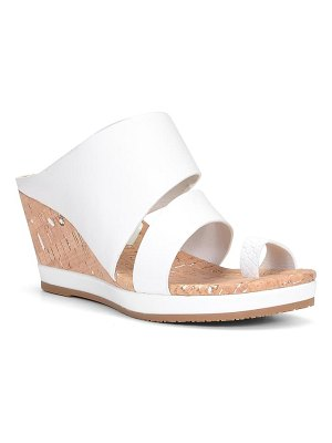 Donald Pliner montce wedge slide sandal