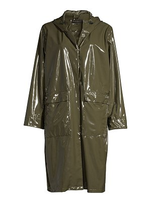Donna Karan city slicker raincoat