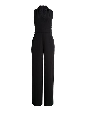 Donna Karan crossed wide-leg jumpsuit